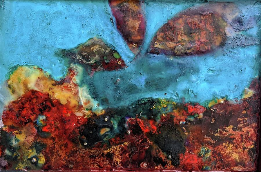 Fire And The Sea 2 Painting