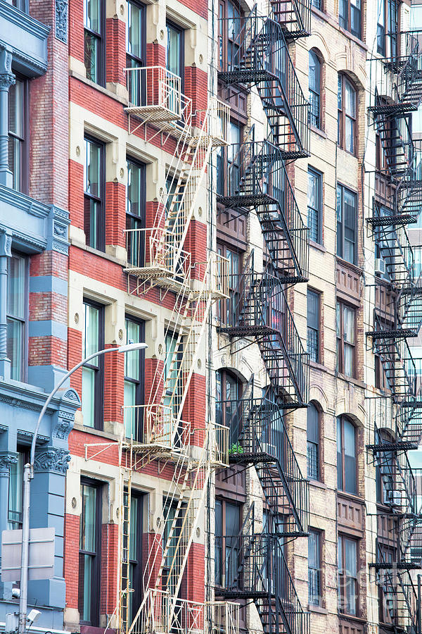 Fire Escapes, New York, New York 2 by Felix Lai