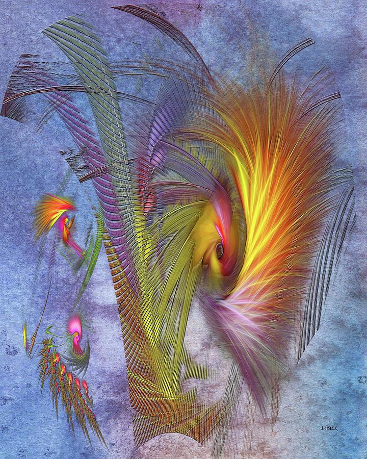 Fire Eye Digital Art - Fire Eye by John Robert Beck