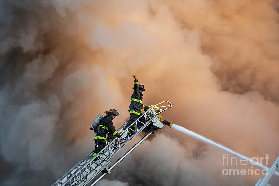 Fire Fighters Photograph