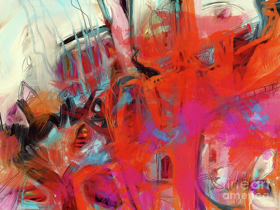 Fire Up Digital Art by Robin Valenzuela