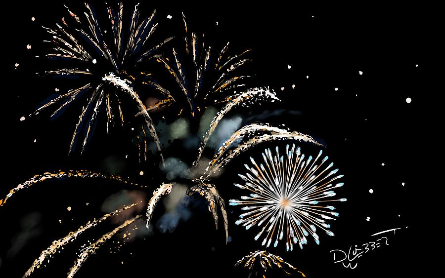 Fireworks Digital Art