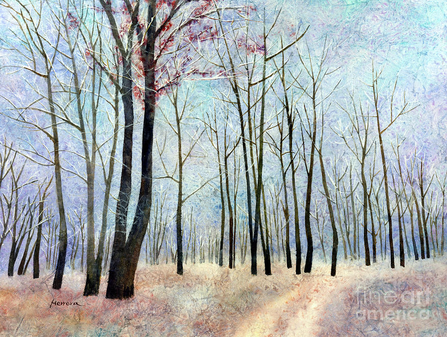 First Frost-pastel Colors Painting