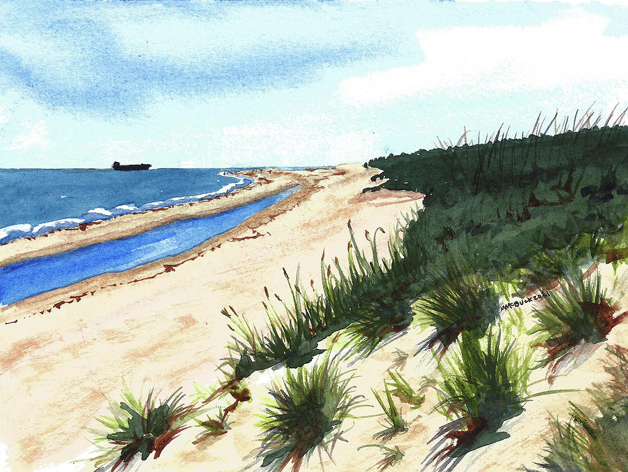 First Landing State Park, Virginia Painting