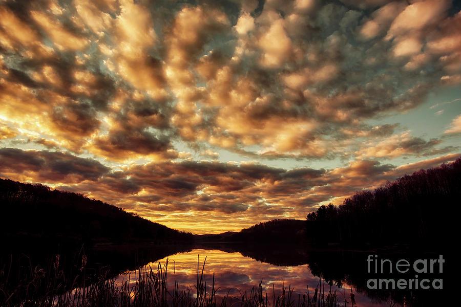 First Light Lake View by Thomas R Fletcher