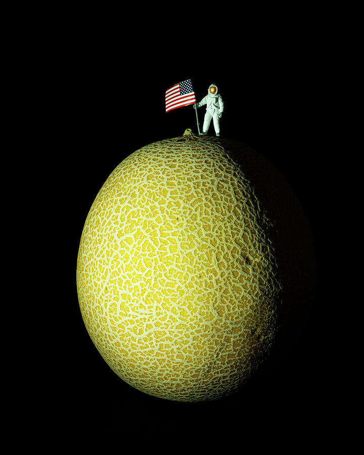 First Man On The Melon Photograph