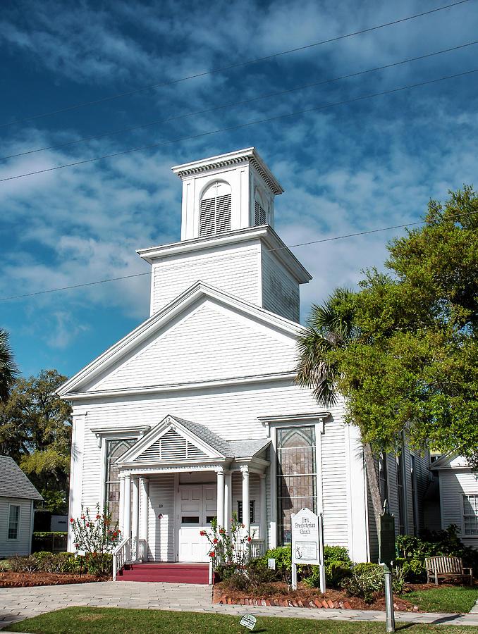 First Presbyterian Church - Fernandina Beach Photograph