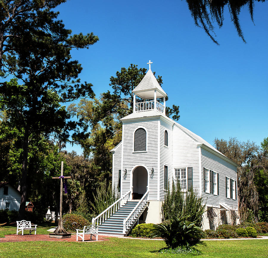 First Presbyterian Church Of St. Marys Photograph