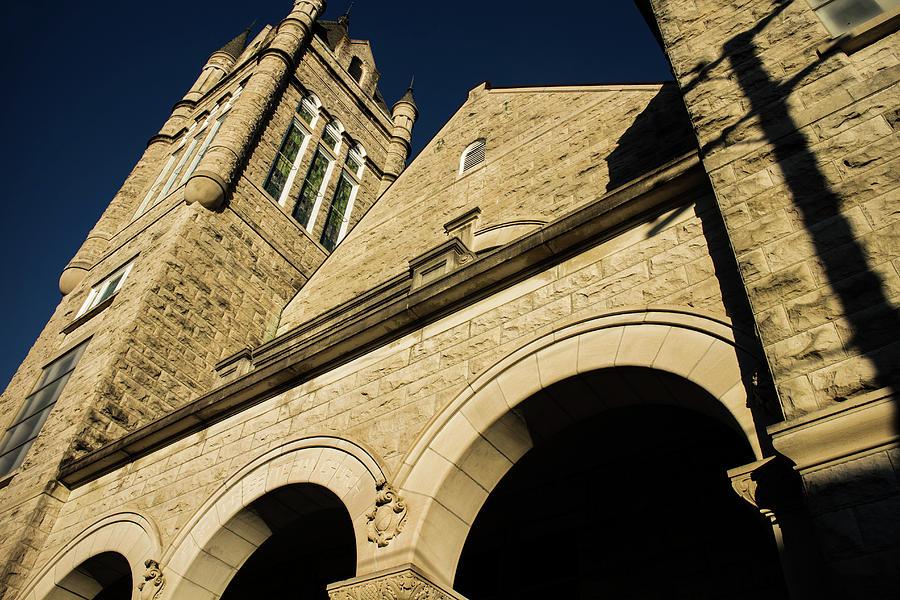 First Presbyterian Church of Vicksburg by Eugene Campbell