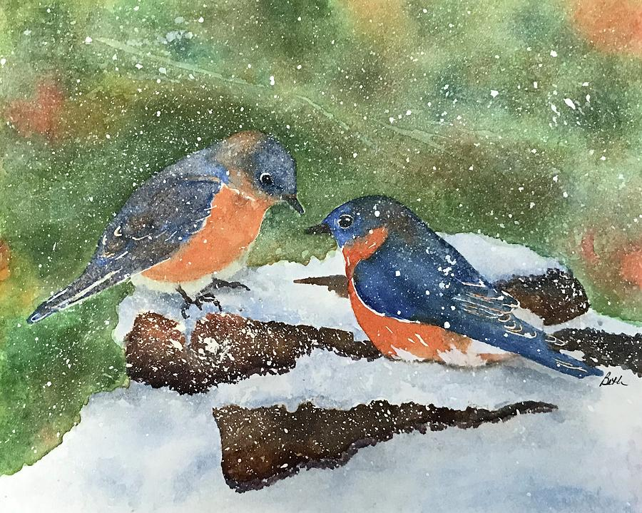 First Snow by Beth Fontenot