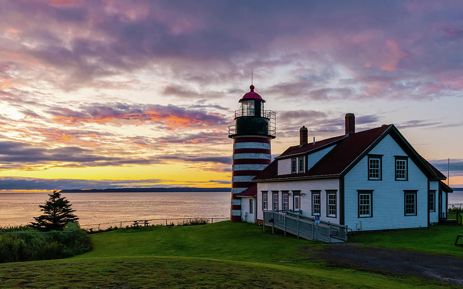 First Sunrise In America Photograph