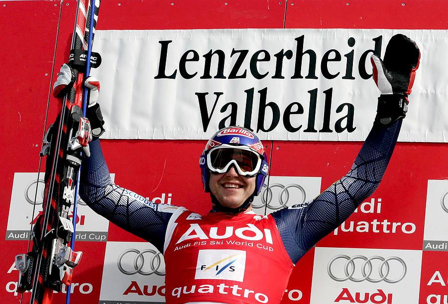 FIS Alpine World Cup - Mens Super Giant Slalom, Lenzerheide Photograph by Agence Zoom