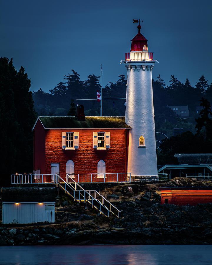 Fisgard Lighthouse by William Christiansen