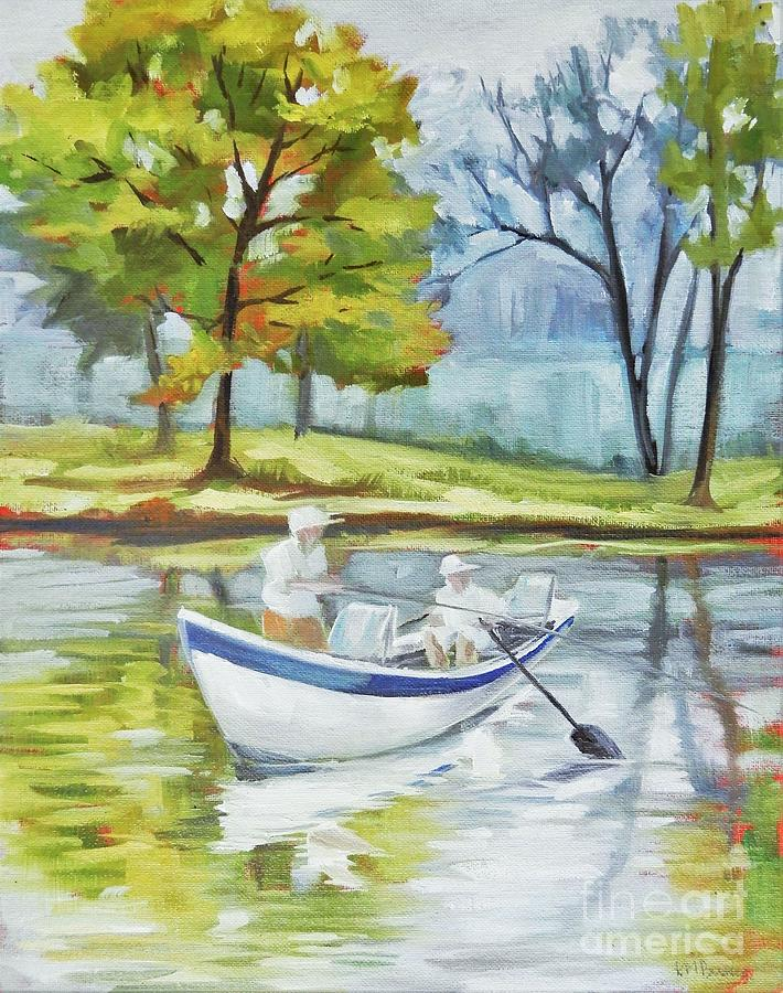 Fish Are Biting Painting