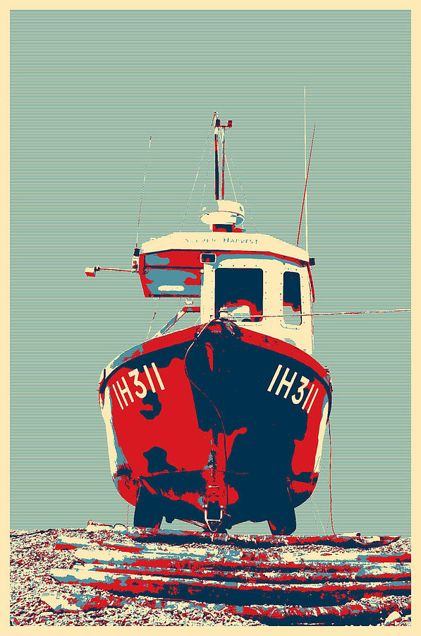 Fishing Boat by Paul Cullen