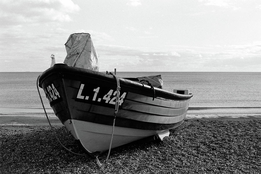 Fishing Boat Photograph - Fishing Boat by Simon Long