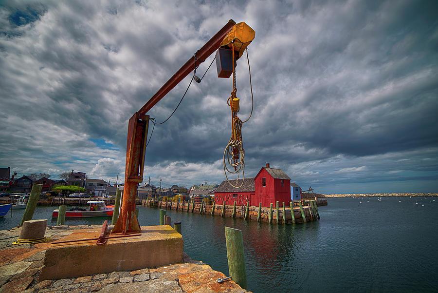 Fishing Harbor - Rockport, Ma. Photograph