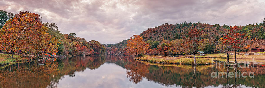 Fishing Paradise Mountain Fork River - Beaver's Bend State Park Broken Bow Oklahoma by Silvio Ligutti