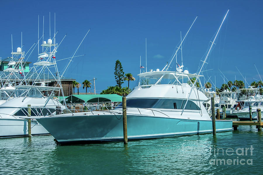 Fishing Yacht by Tony Baca