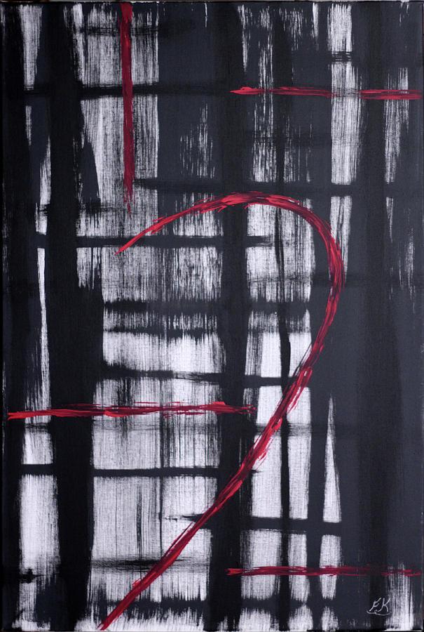 Five Painting - Five by Franklin Kielar