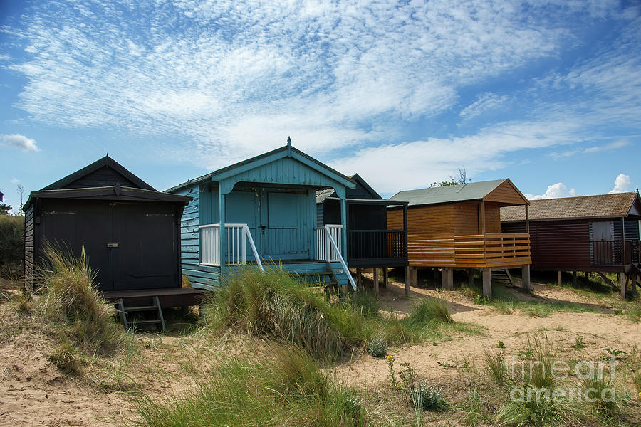 Five Huts at Old Hunstanton by John Edwards