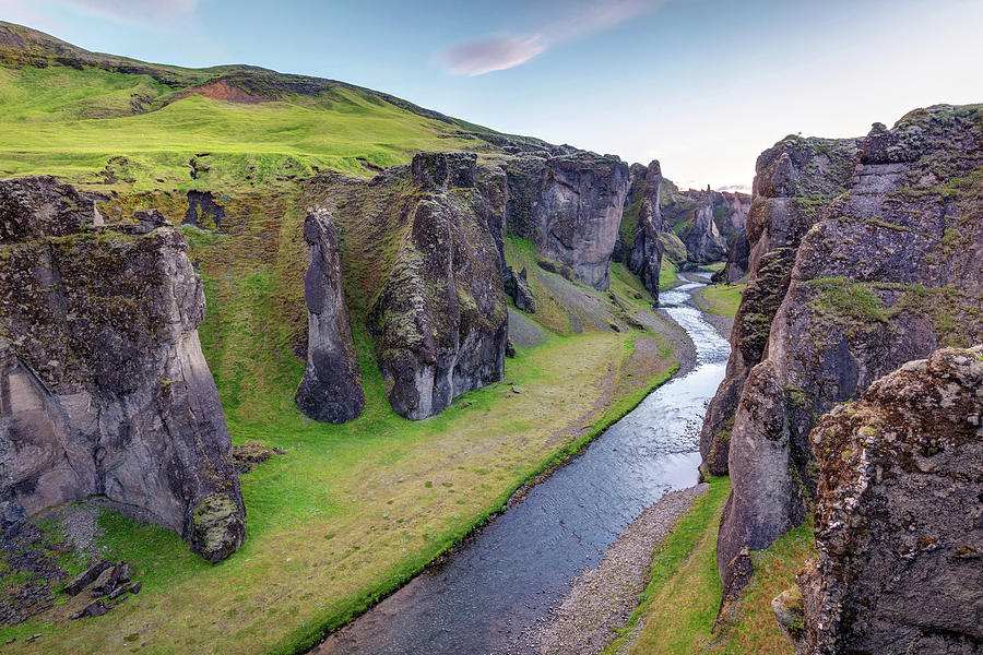 Fjadrargljufur Canyon Iceland by Pierre Leclerc Photography
