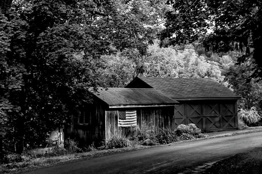 Flag Barn Photograph