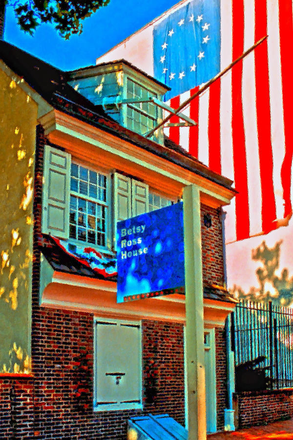 Flag Day Photograph