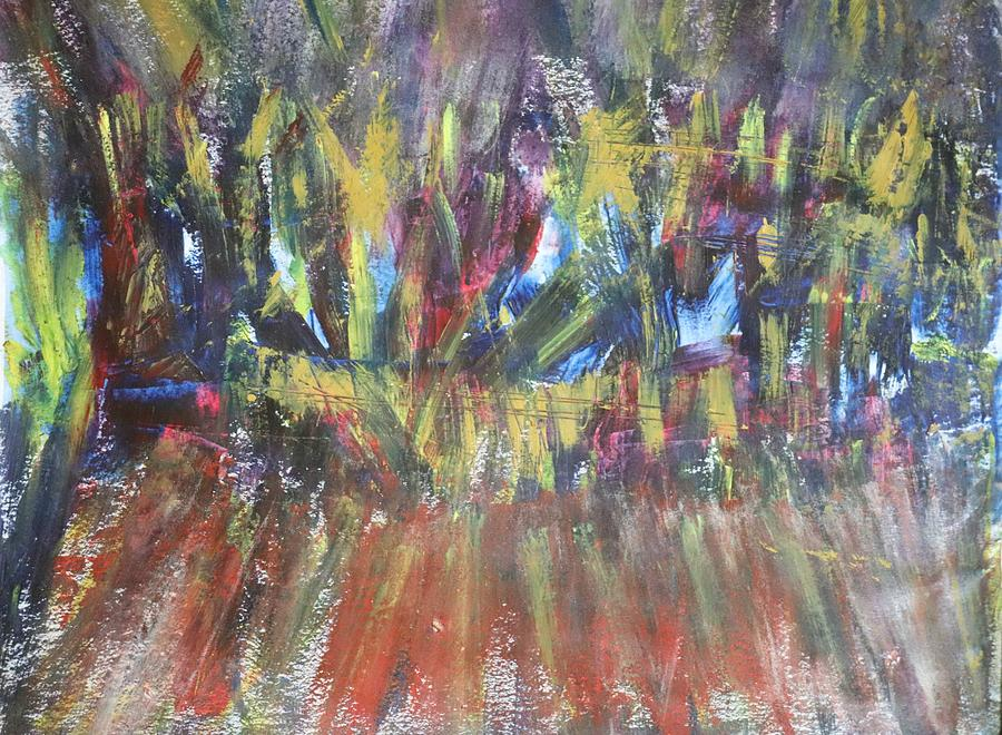 Flame Of Covid 19 Painting