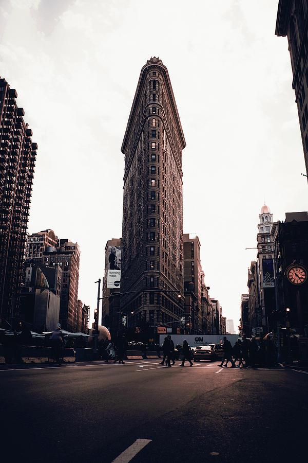 Flatiron, Nyc Skyline, New York, United States - Surreal Art By Ahmet Asar Digital Art