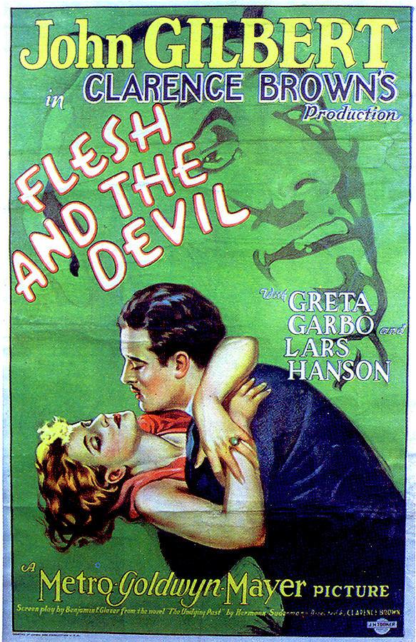 flesh And The Devil Movie Poster 1926 Mixed Media