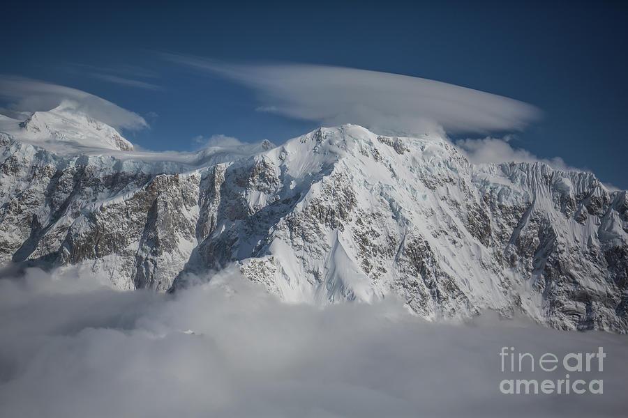Flight Over Denali by Eva Lechner
