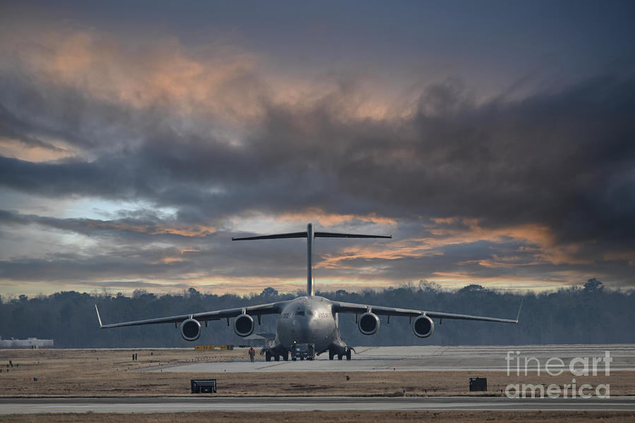Flight Prep - C17 - Chs Photograph