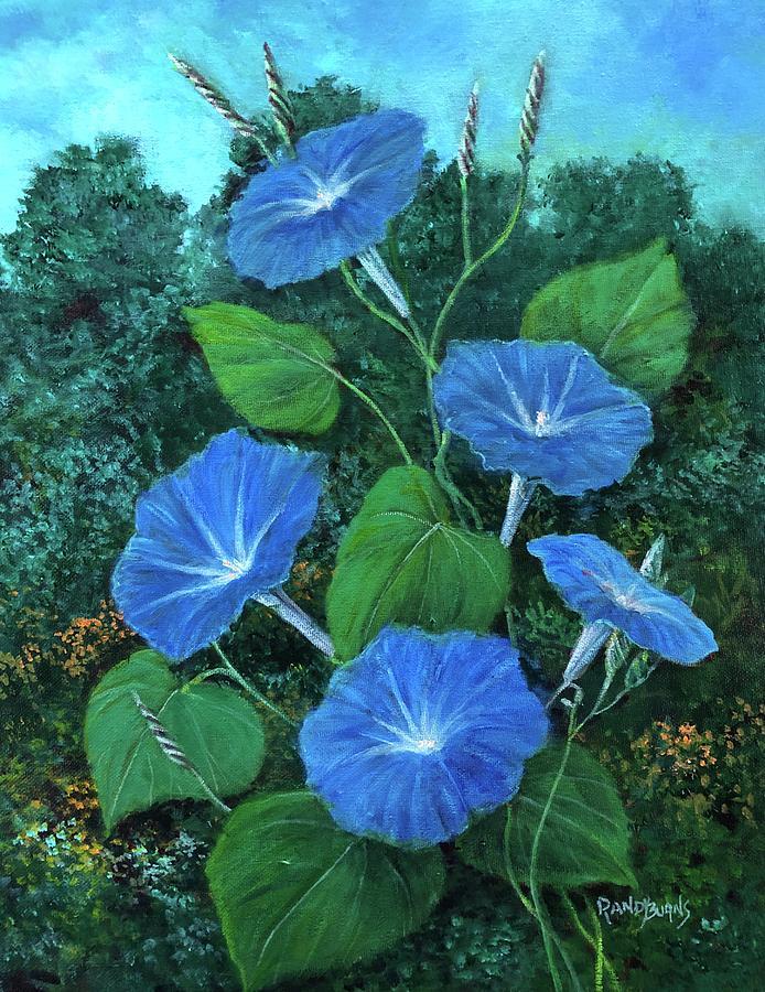 Flor Divina. Flor De La Manana by Randy Burns