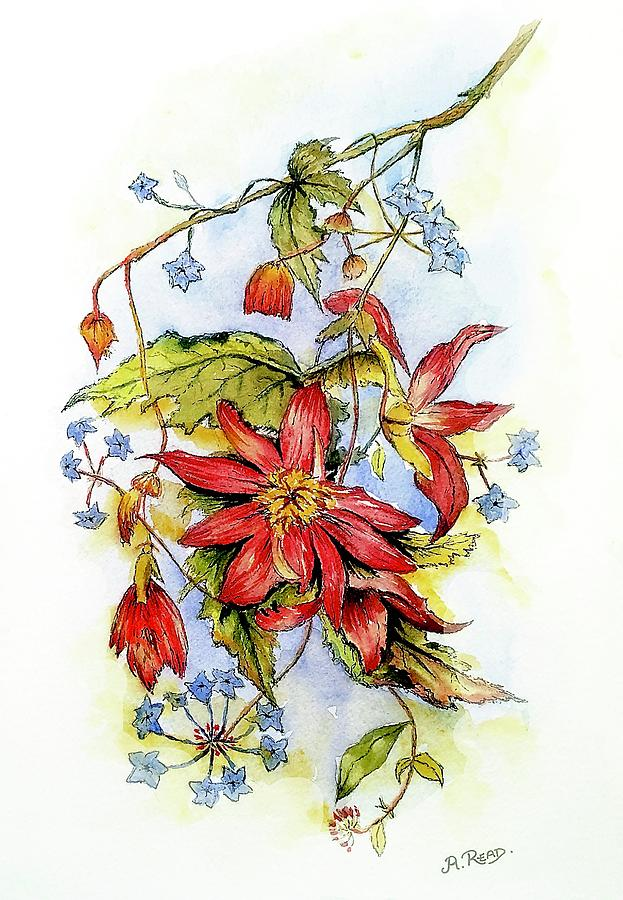 Floral Display 2 Painting