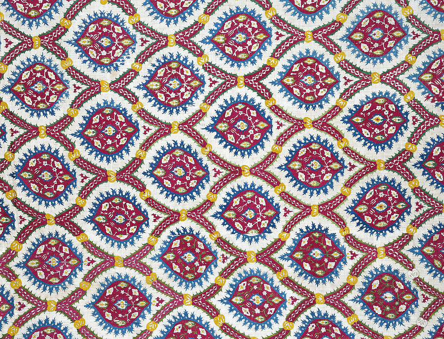 Floral Fabric Vintage Gift Flowers by John Williams