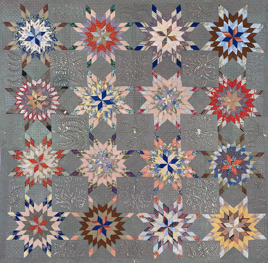 Floral Fabric Vintage Gift Pastel by John Williams