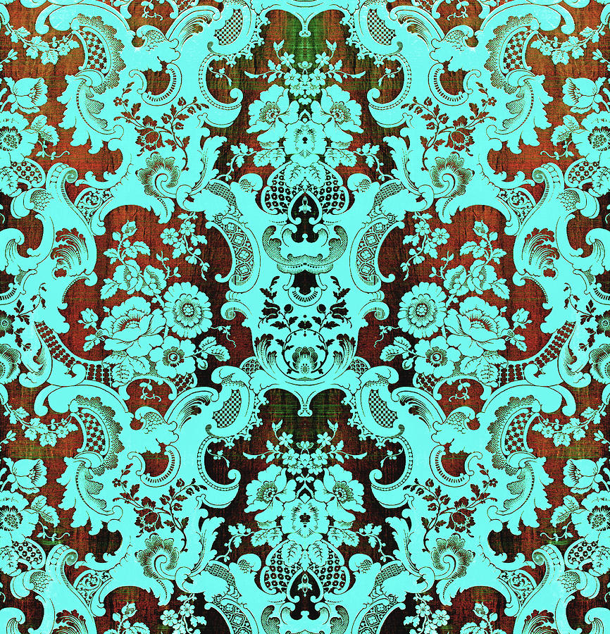 Floral Fabric Vintage Gift Pattern #17 by John Williams