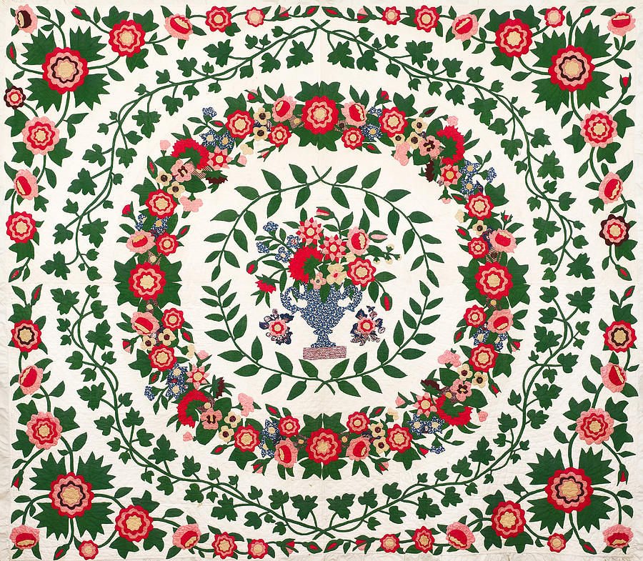 Floral Fabric Vintage Gift Pattern #9 by John Williams
