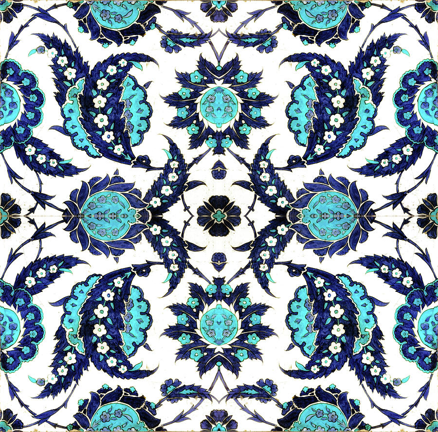 Floral Fabric Vintage Gift Pattern Paisley by John Williams