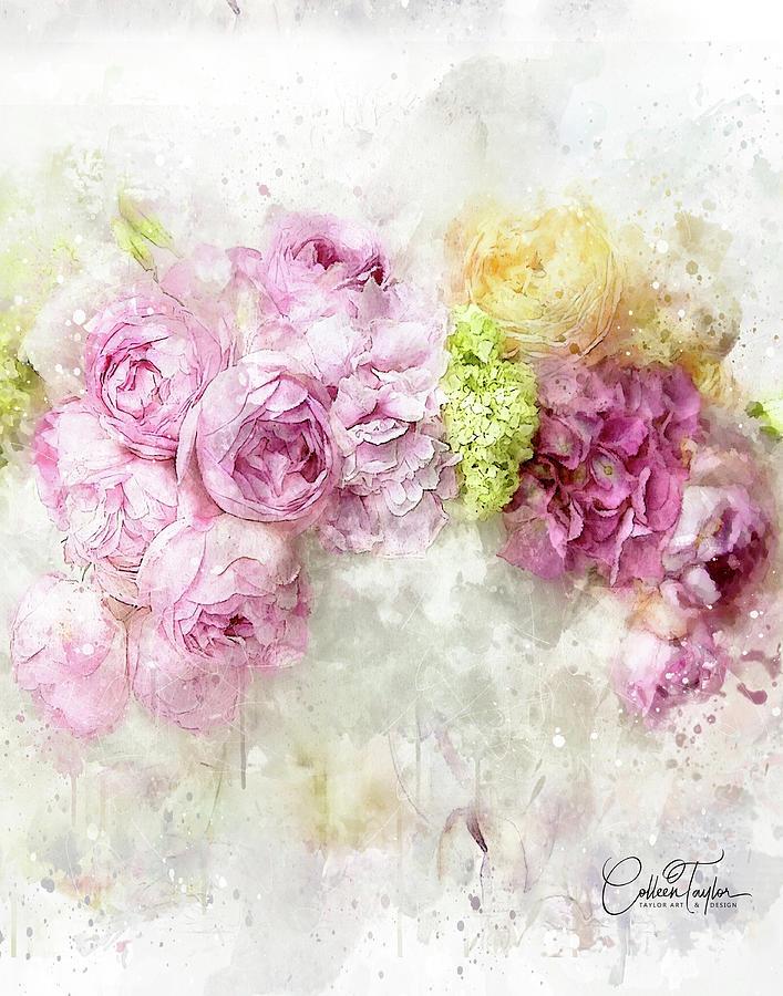 Floral Fantasy Mixed Media