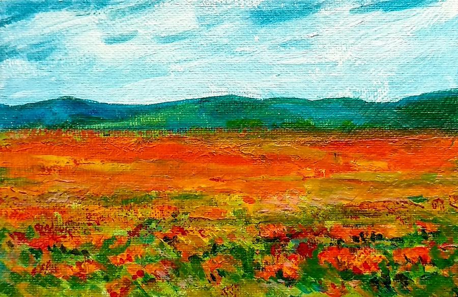 Floral Meadow by Asha Sudhaker Shenoy