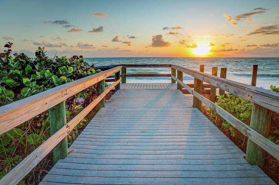 Florida Photograph - Florida Sunrise by R Scott Duncan