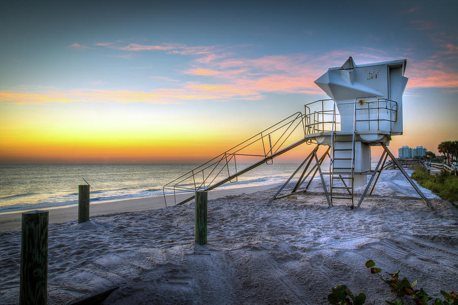 Seascape Photograph - Florida Sunrise Seascape by R Scott Duncan