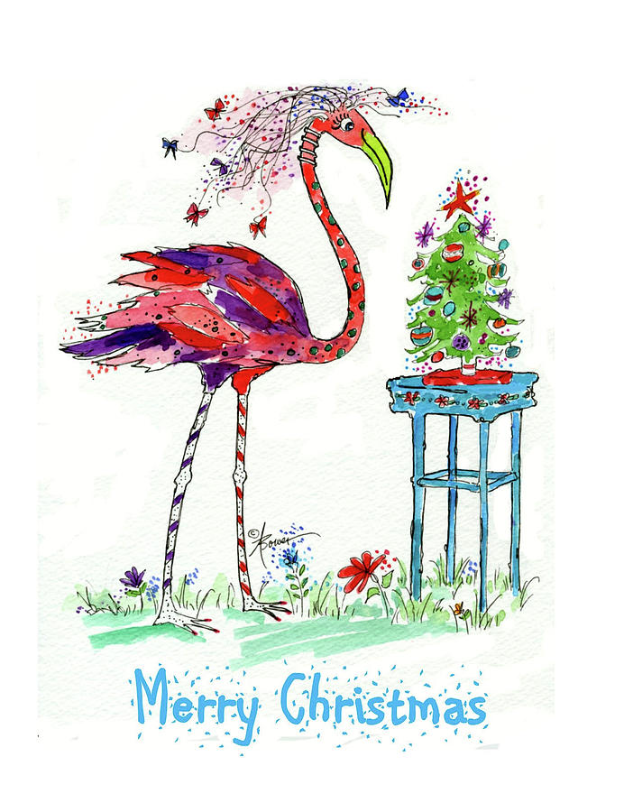 Flossie Flamingo's Christmas by Adele Bower
