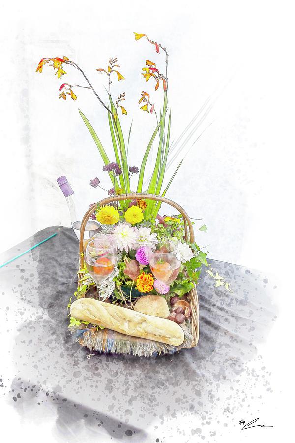Flower basket by Starsphinx