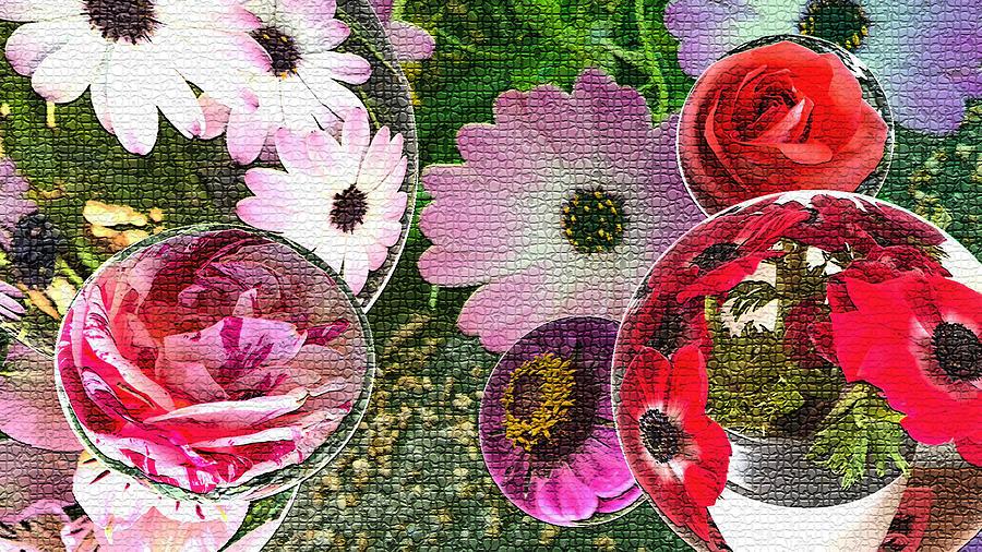 Flower Garden Digital Art