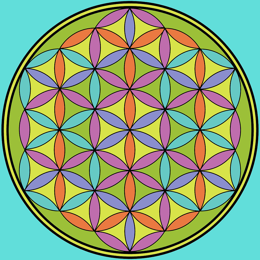 Flower of Life 2 by Angie Tirado