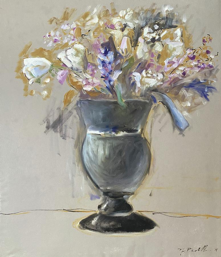 Picasso Painting - Flower Vase by Noe Badillo