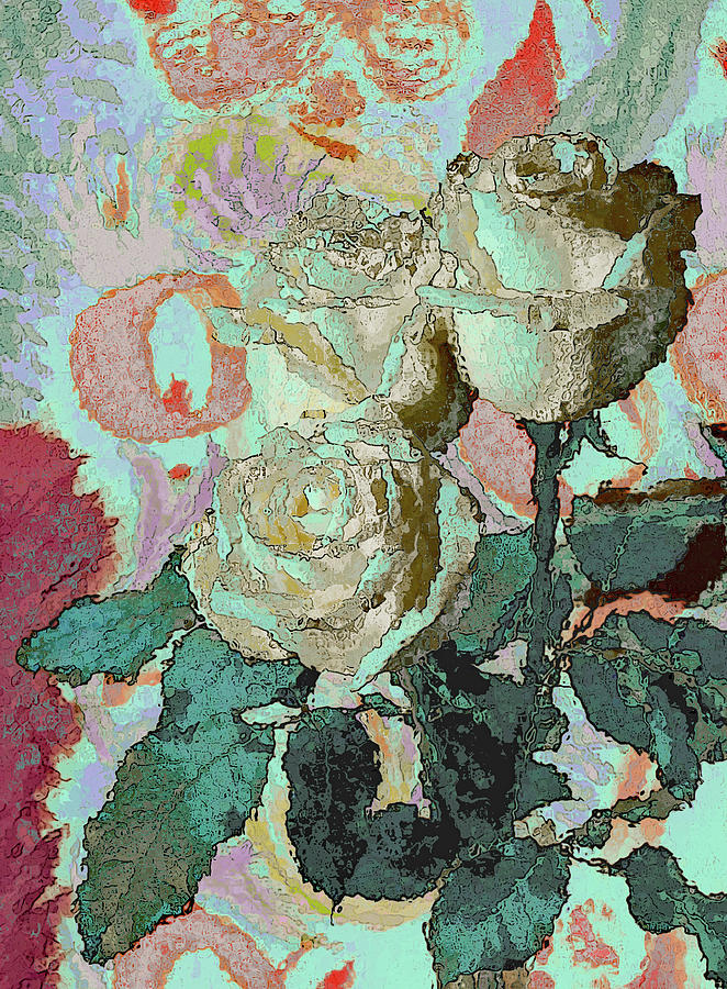 Flower Mixed Media - Flowers 211 by Corinne Carroll